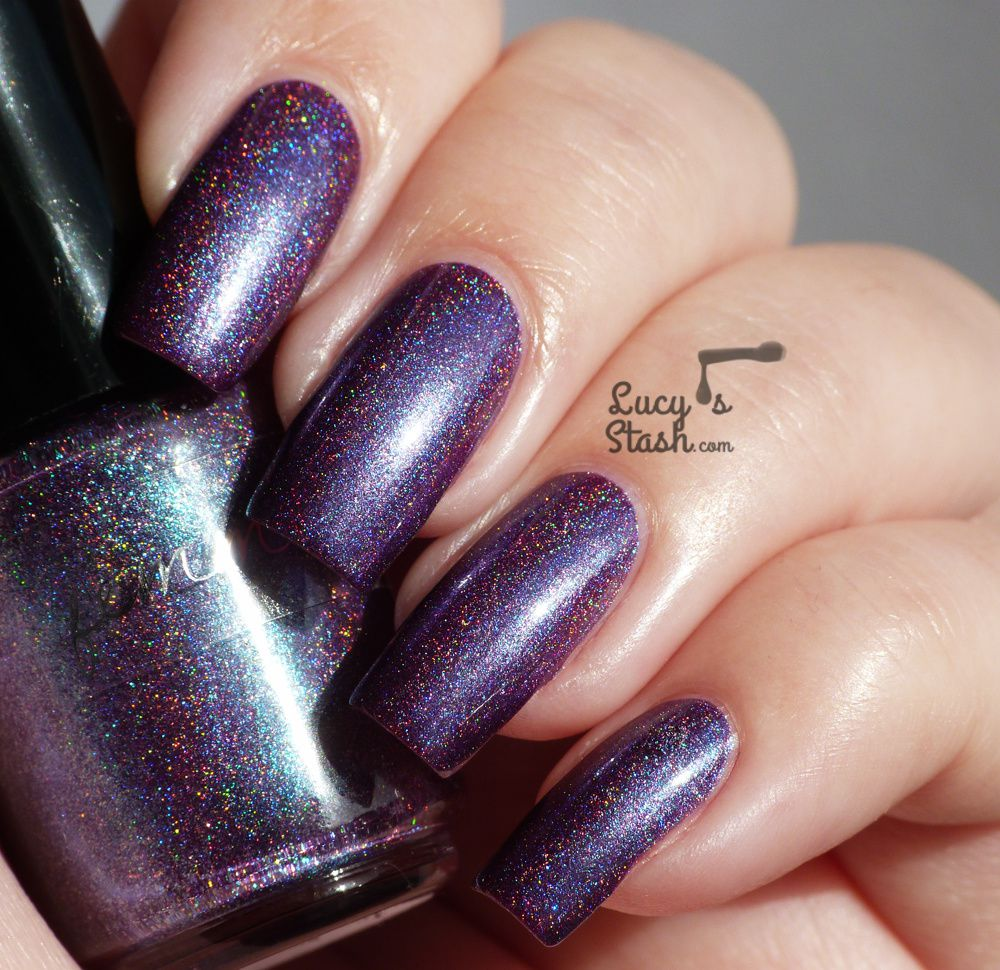 Beauty is in rainbow... feat. Femme Fatale holo polishes