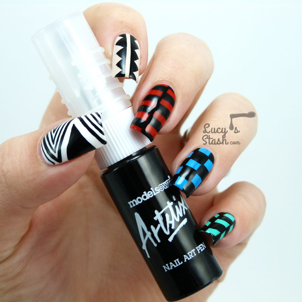 Review: Models Own Artistix Nail Art Pen + Skittle Nail Art