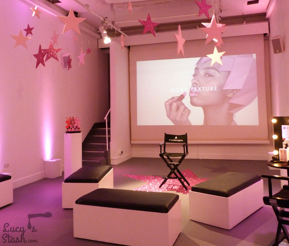 Illamasqua Glamore Collection - Photo Report from the blogger evening