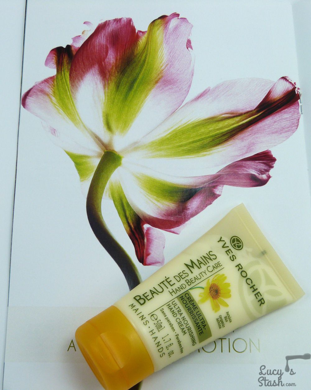 Protect your hands with Yves Rocher Ultra Nourishing Hand Cream