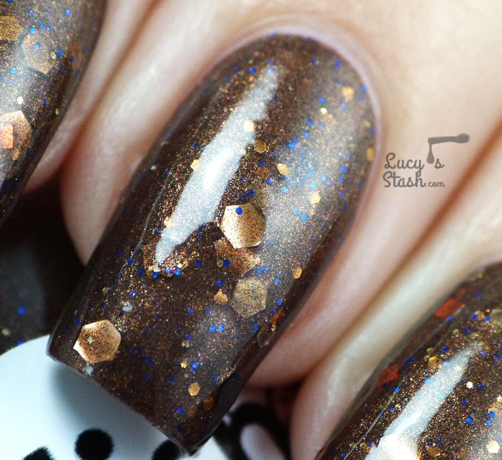 Polish TBH Chocolate Frogs and Pyskhe - Review & Swatches