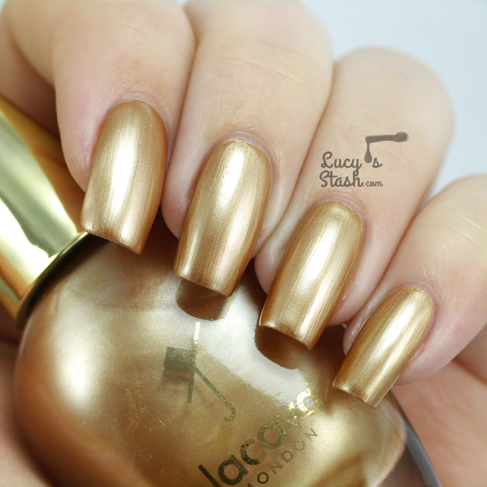 Jacava London Smooth Liquid Gold - Review &amp&#x3B; Swatches