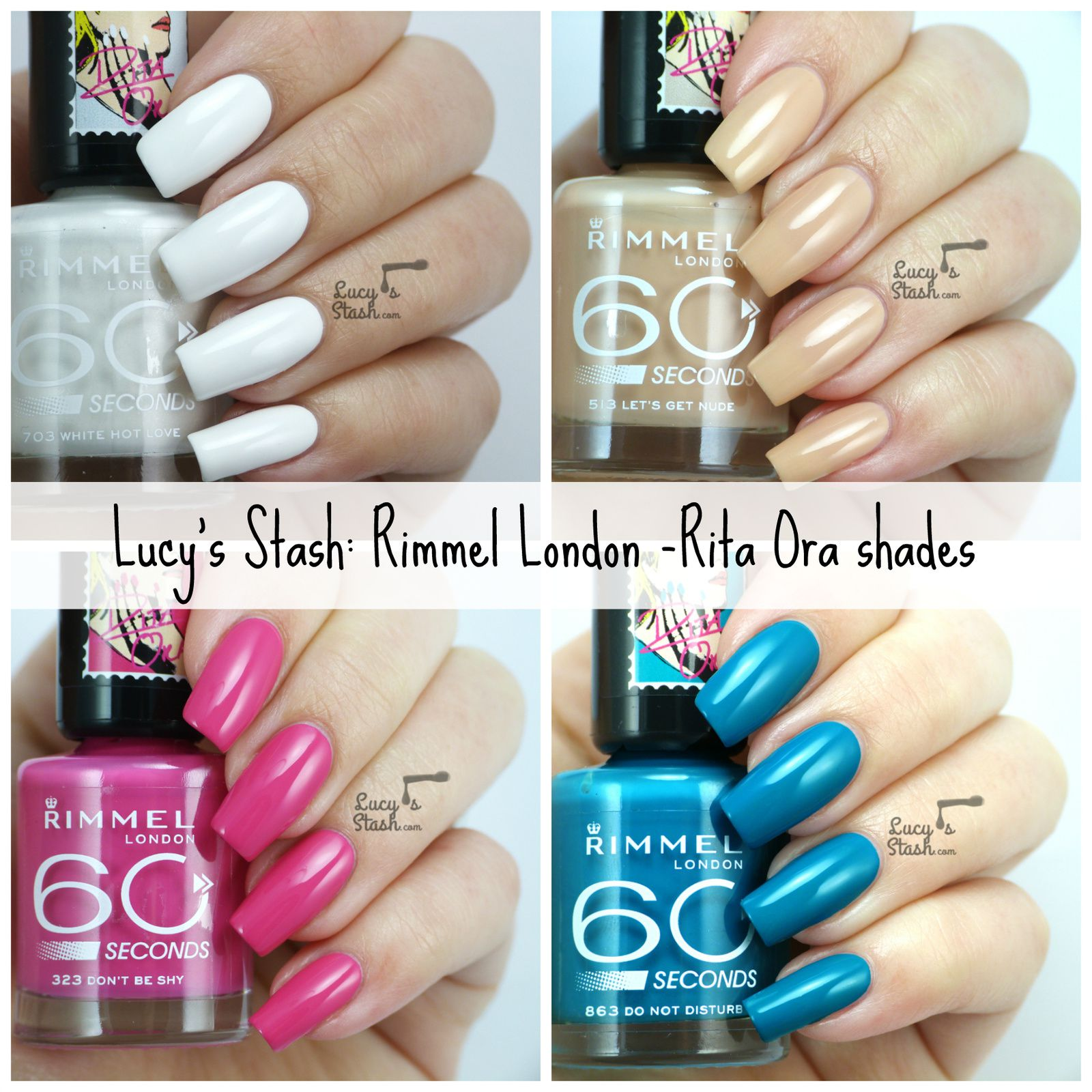 Rimmel London Rita Ora Polishes