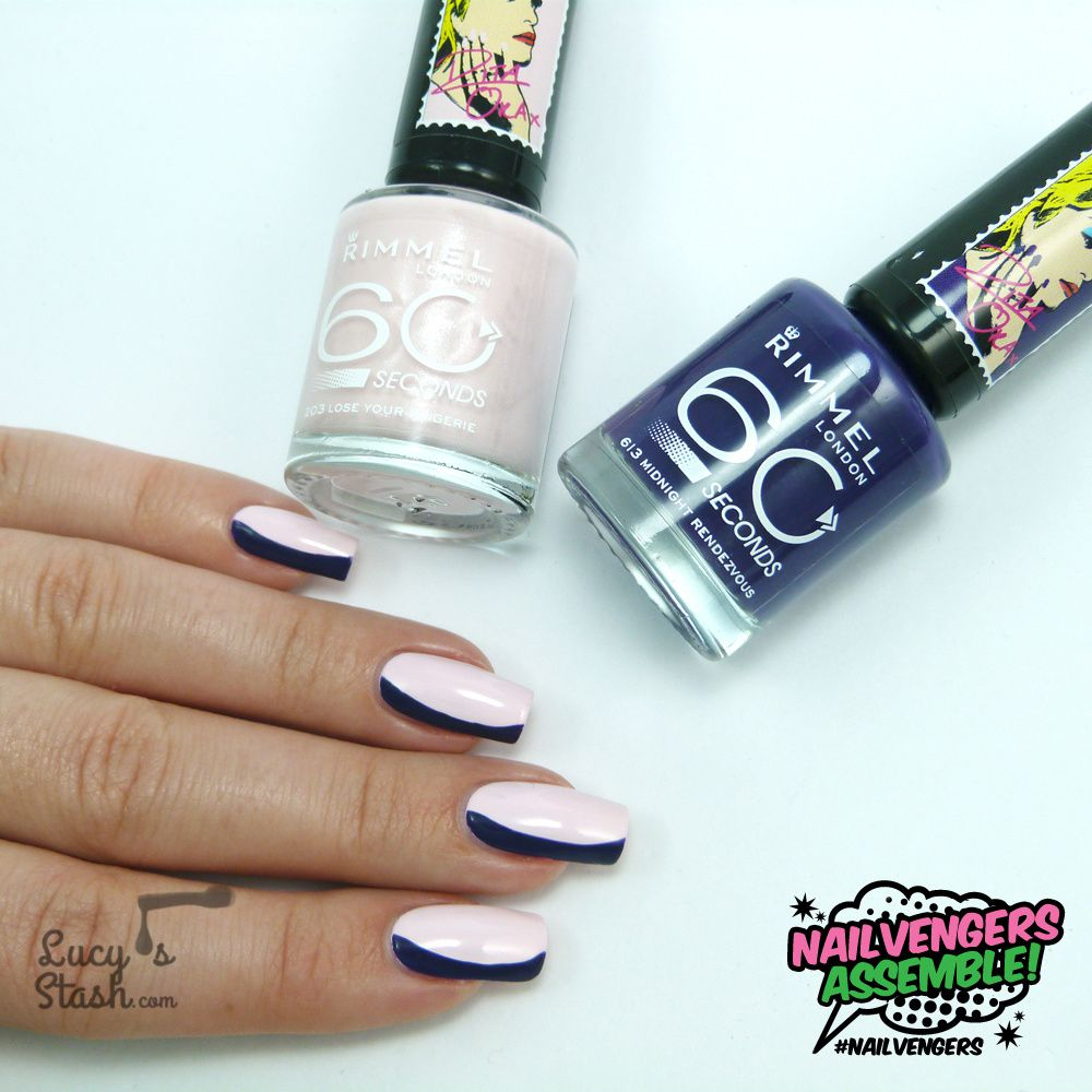 Nailvengers Assemble! - Untried Polishes | Floating French Manicure + TUTORIAL