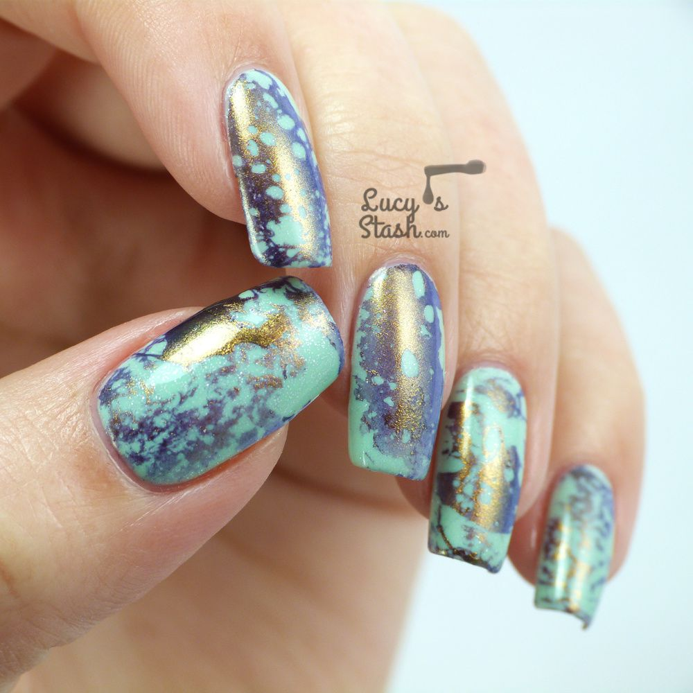 piCture pOlish Monday: Water Spotted Siren