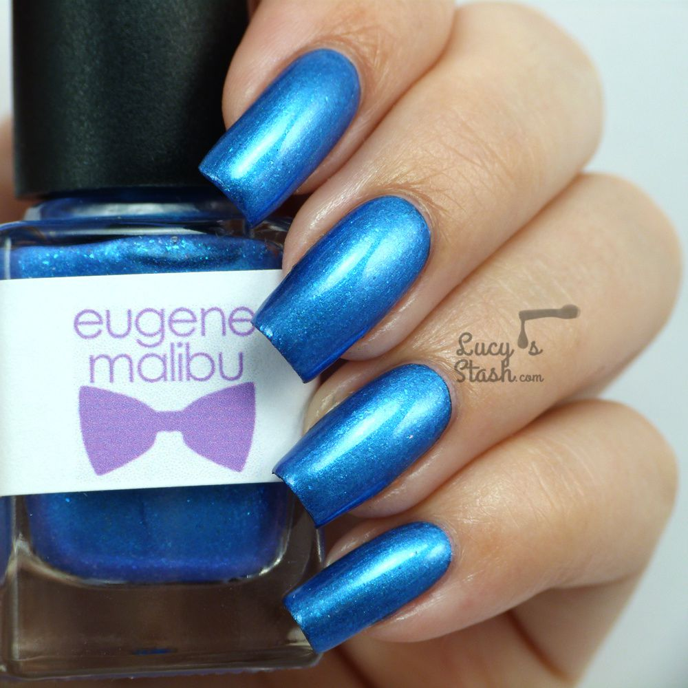 The Monthly Nail &amp&#x3B; Eugene Malibu Nail Polish - Review &amp&#x3B; Swatches