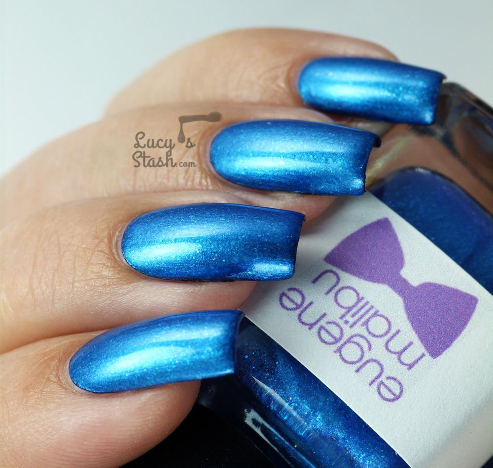 The Monthly Nail & Eugene Malibu Nail Polish - Review & Swatches