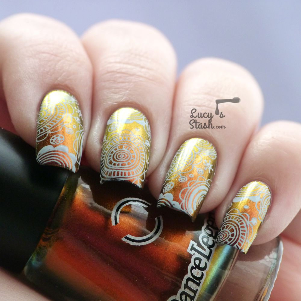 Multichrome Floral Stamping with Dance Legend & MoYou London