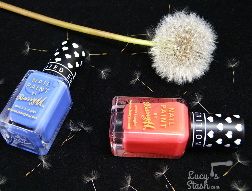 Barry M Limited Edition Shades for Boots - Review & Swatches
