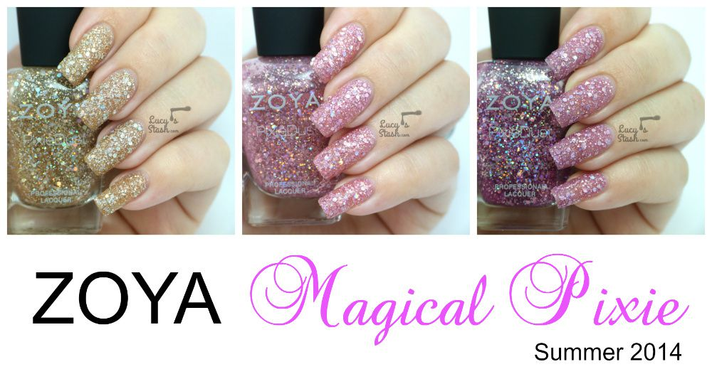 Zoya Magical Pixie Collection for Summer 2014 - Review &amp&#x3B; Swatches