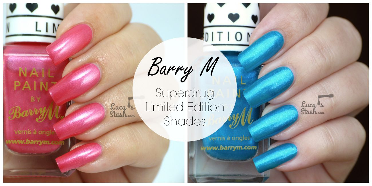 Barry M Superdrug Limited Editions Seaside & Promenade - Review ...