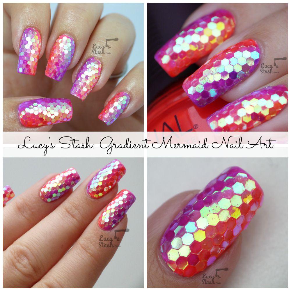 Nailvengers Assemble! - Glitter Placement Nail Art