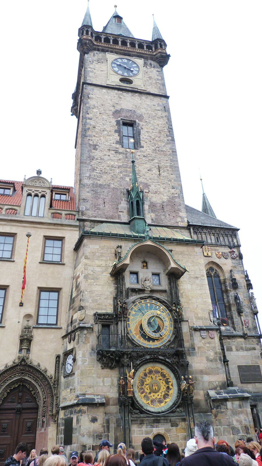 "Old Town Square wih Astronomical Clock ""Orloj"""