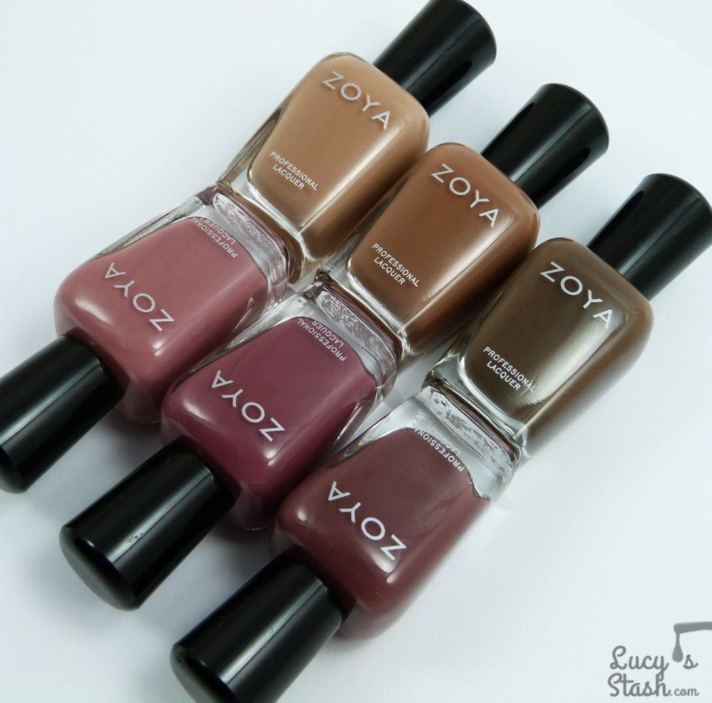 Zoya Naturel Deux (2) Collection - Review &amp&#x3B; Swatches