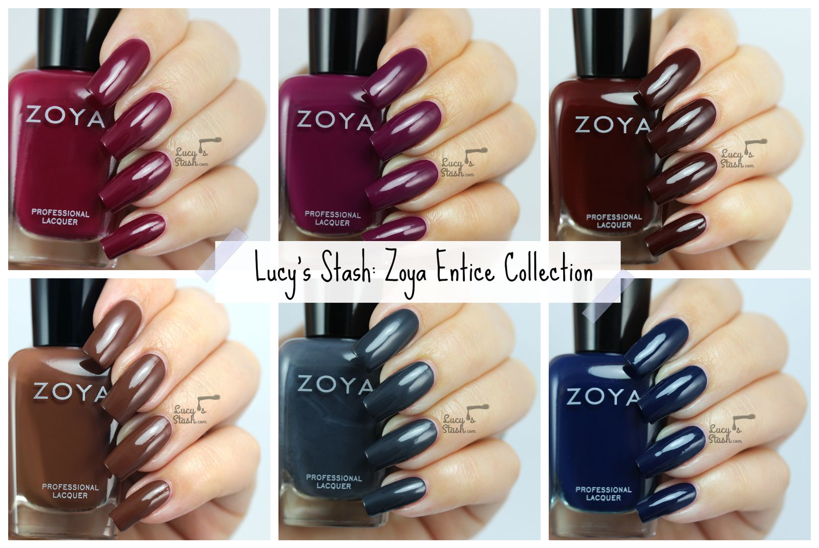 Zoya Entice Collection - Review &amp&#x3B; Swatches