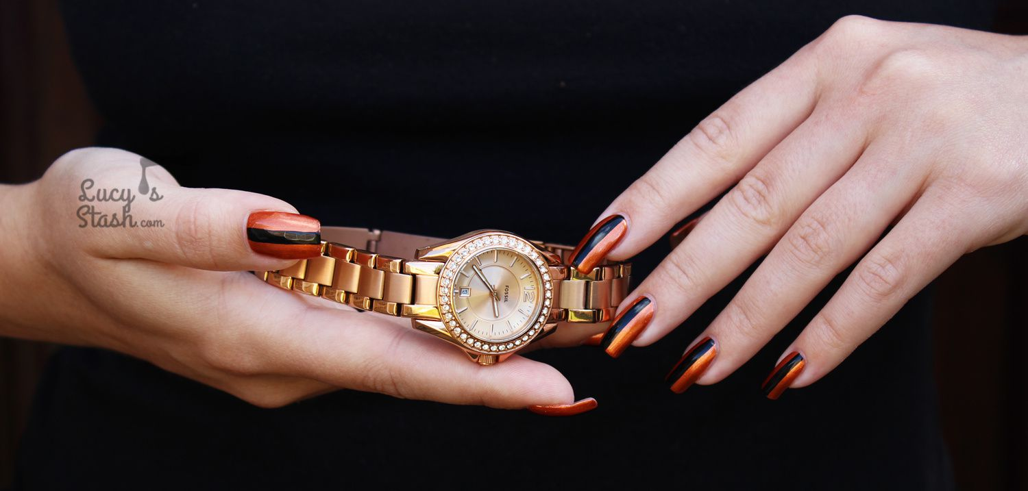 Fossil Watch Review Chic Nail Art Design Lucys Stash
