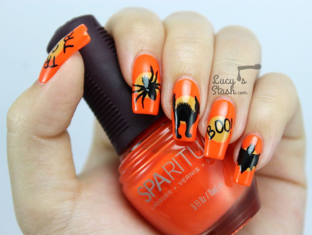 Halloween Mix &amp&#x3B; Match Nails with SpaRitual