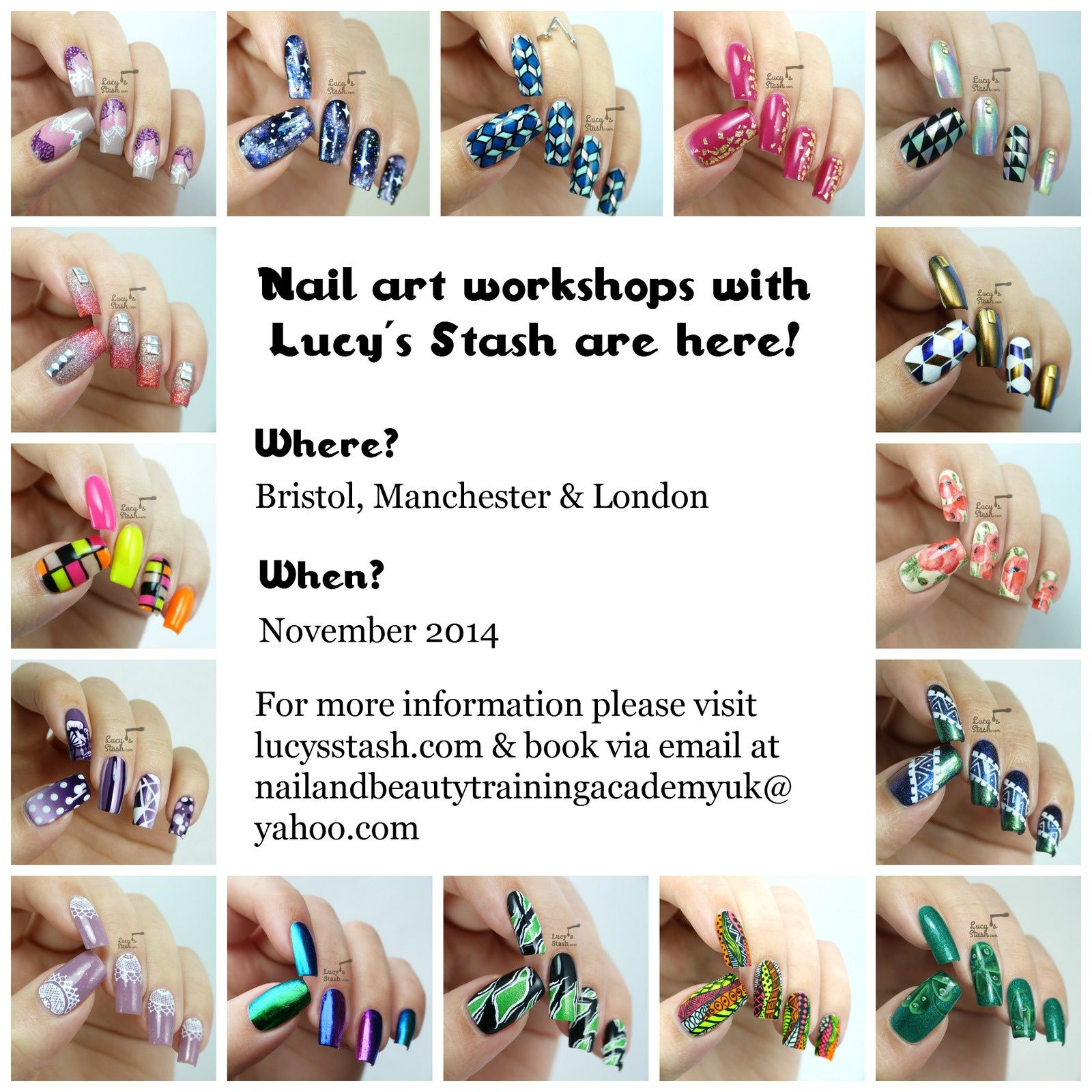 Would You Like To Attend Nail Art Workshop With Me?