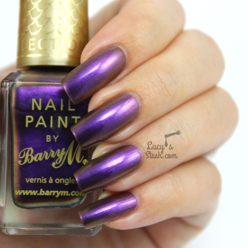 Barry M Aquarium Collection - New A/W Shades Persian & Atlantis | Review & Swatches