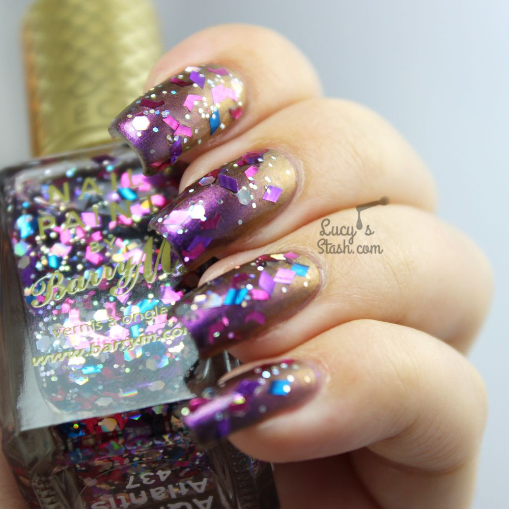 Barry M Aquarium Collection - New A/W Shades Persian &amp&#x3B; Atlantis | Review &amp&#x3B; Swatches