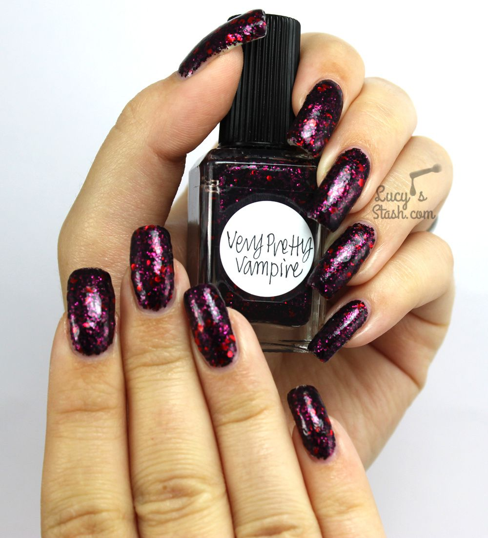 Lynnderella Very Pretty Vampire - Review & Swatches - Lucy\'s Stash