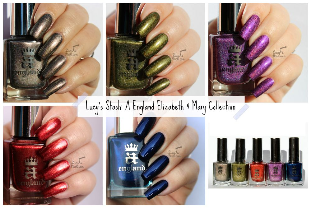 A England Elizabeth &amp&#x3B; Mary Collection - Review and Swatches