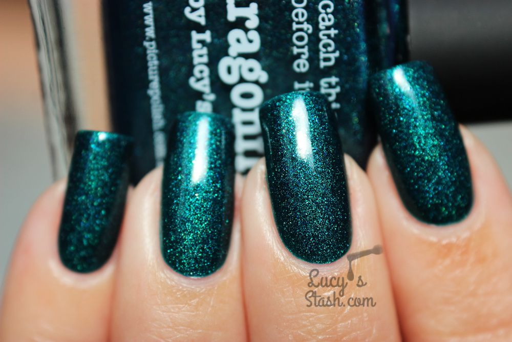 piCture pOlish Dragonfly by Lucy's Stash - Review, Swatches &amp&#x3B; Giveaway