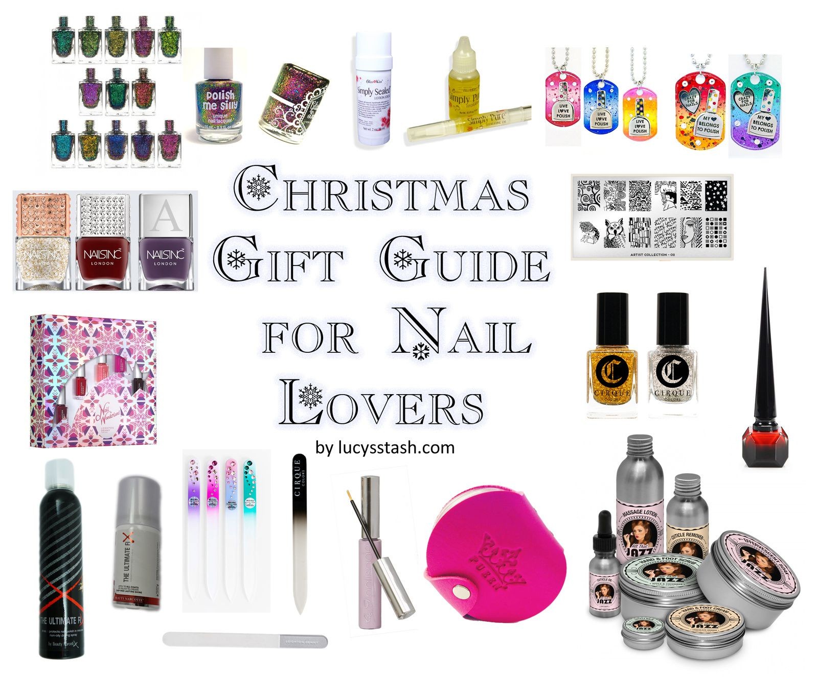 Christmas Gift Guide for Nail Lovers &amp&#x3B; Addicts