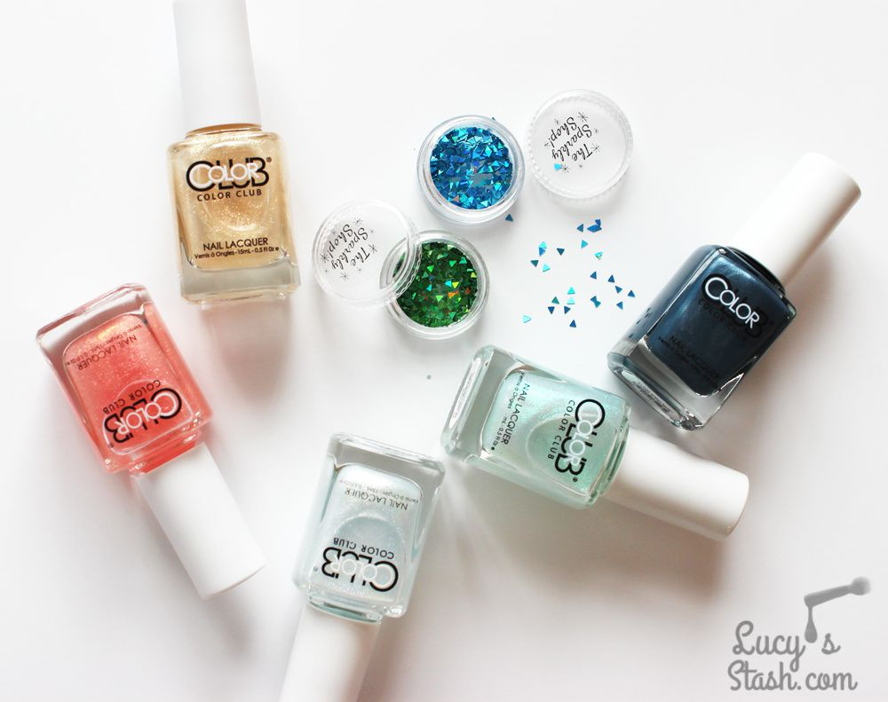 Mosaic Nails with Color Club &amp&#x3B; The Sparkly Shop!