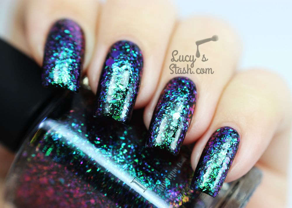 Review: ILNP Ultra Chrome Flakies Collection - Part 1 (pic heavy)