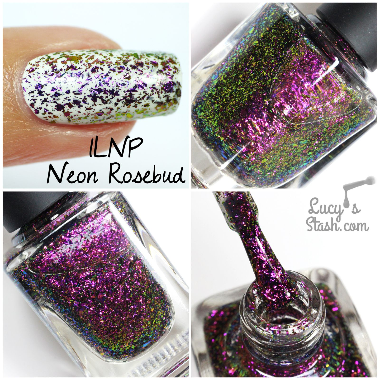 Review: ILNP Ultra Chrome Flakies - Part 2 (pic heavy)