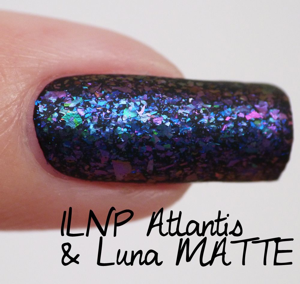 BIG GUIDE to colour combinations of ILNP Ultra Chrome Flakies Collection