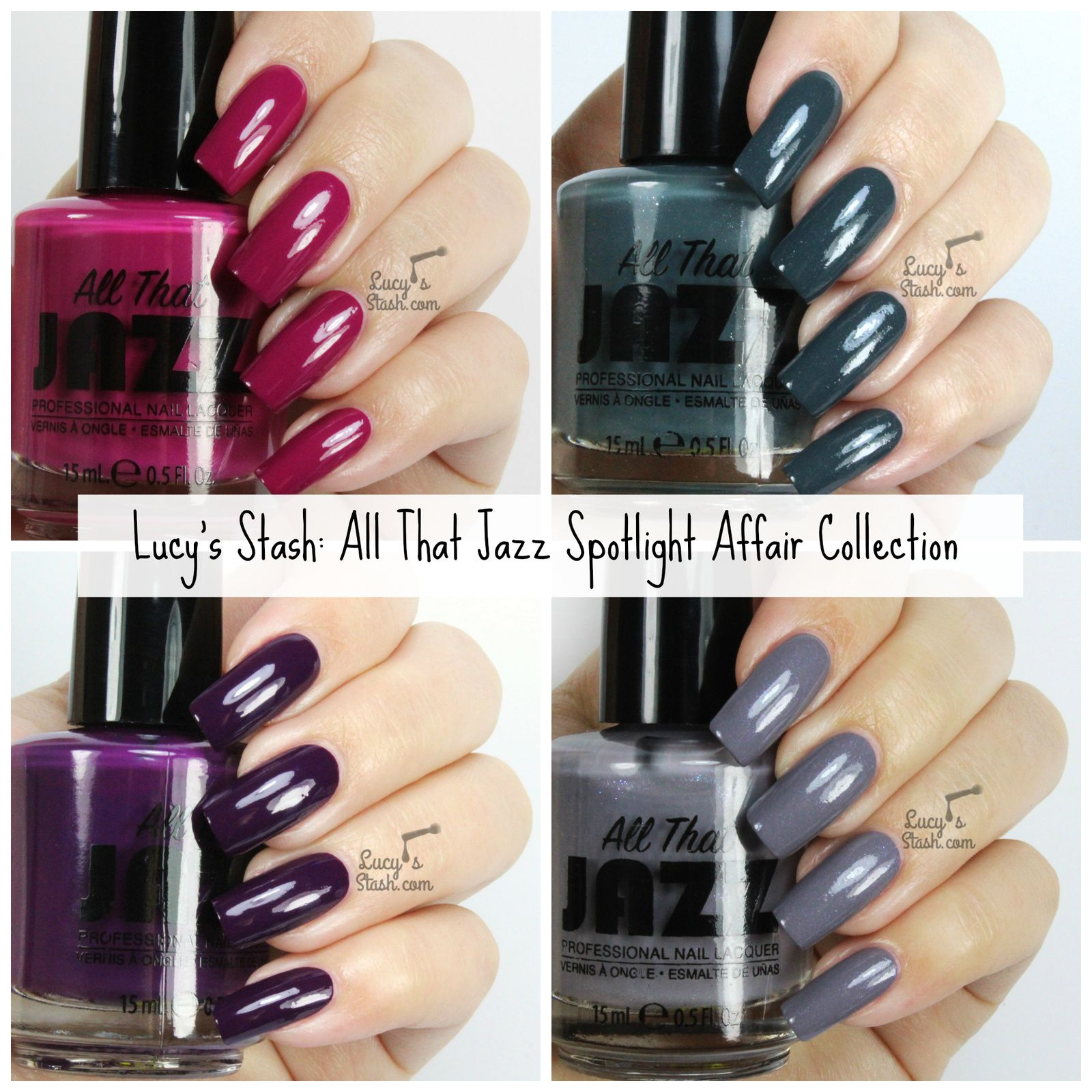 All That Jazz Spotlight Affair Collection - Review &amp&#x3B; Swatches