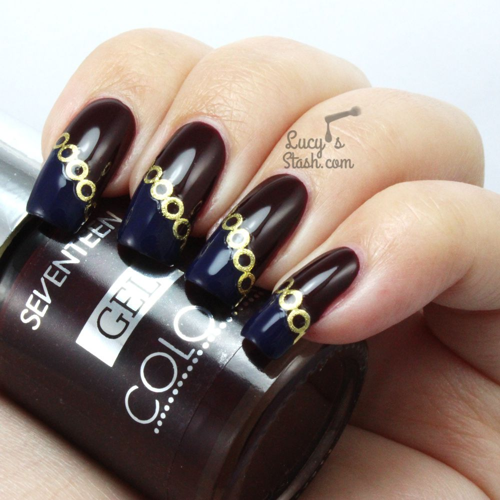 Tied With Gold Chain | Nail Art With SEVENTEEN &amp&#x3B; DECO iT