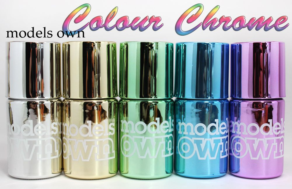 Models Own Colour Chrome Collection - Review &amp&#x3B; Swatches