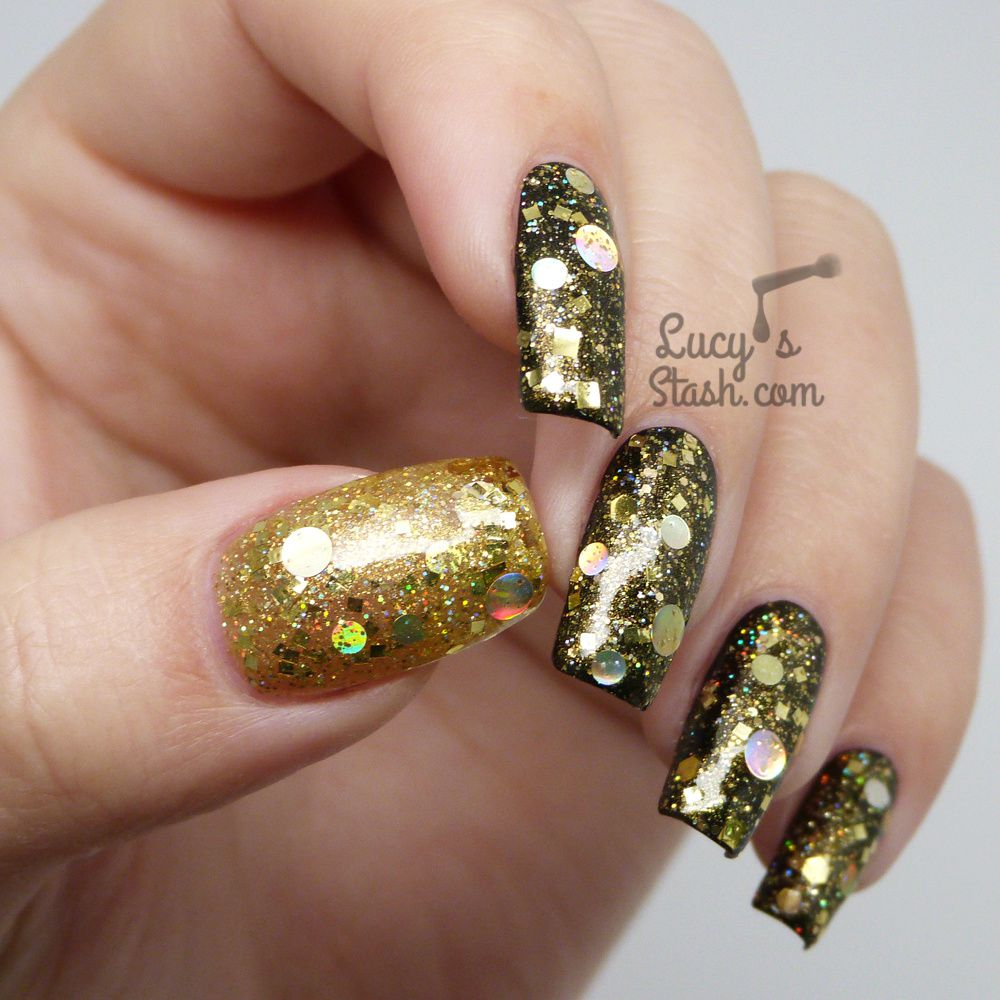 Lynnderella Five Golden Rings - Review & Swatches