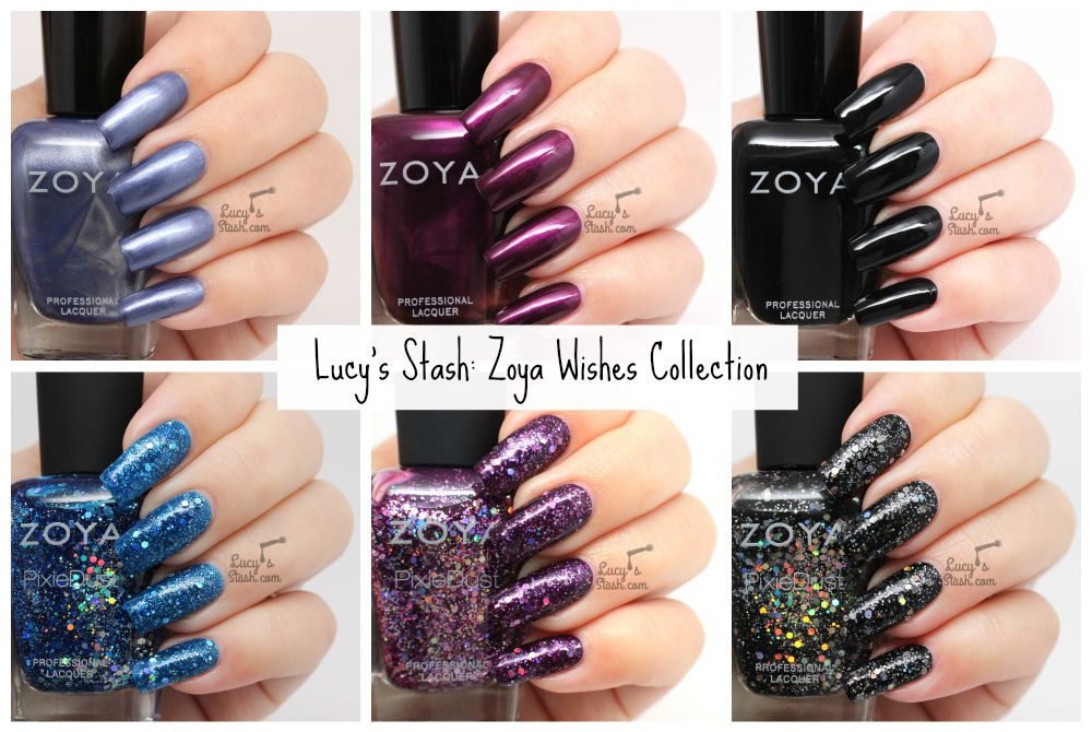 Zoya Wishes Collection - Review &amp&#x3B; Swatches