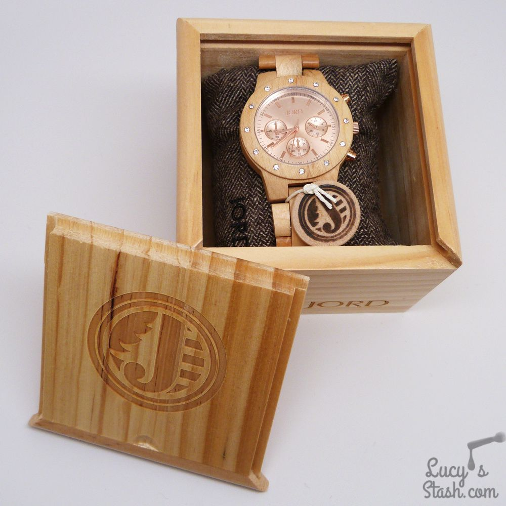 Review: JORD Sidney Watch in Maple & Rose Gold