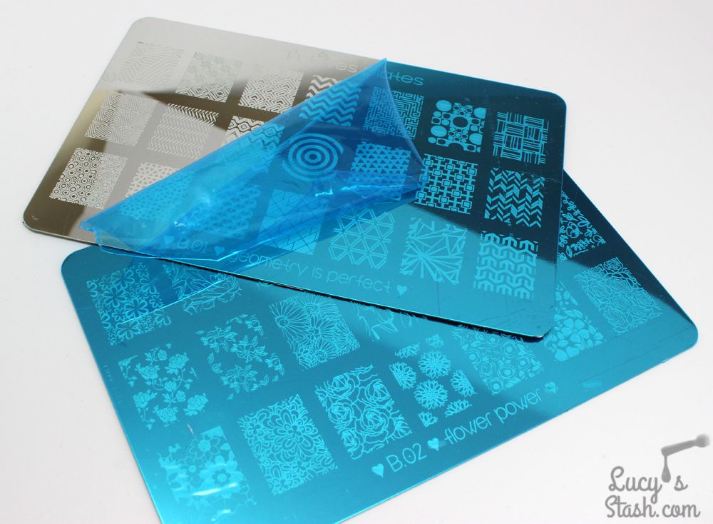 B. Loves Plates - New Stamping Plates On The Block!