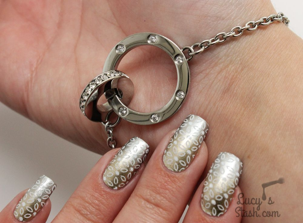 Going Metallic with Models Own + Edblad Bracelet