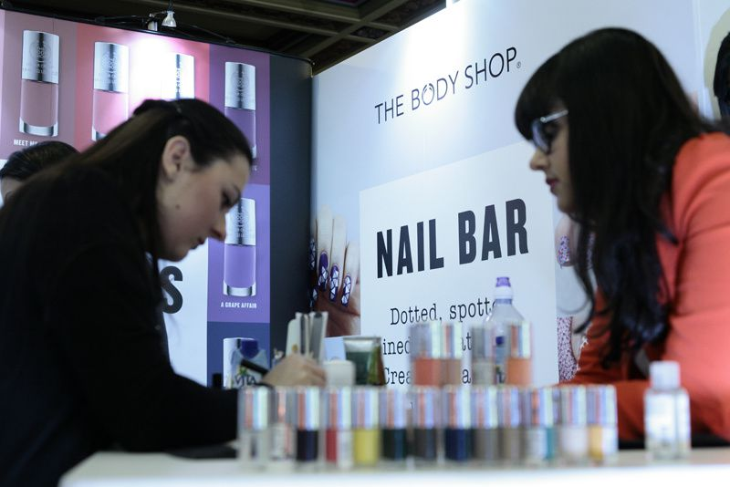 About That Time I Did Nails At The London Fashion Week 2015 for The Body Shop...
