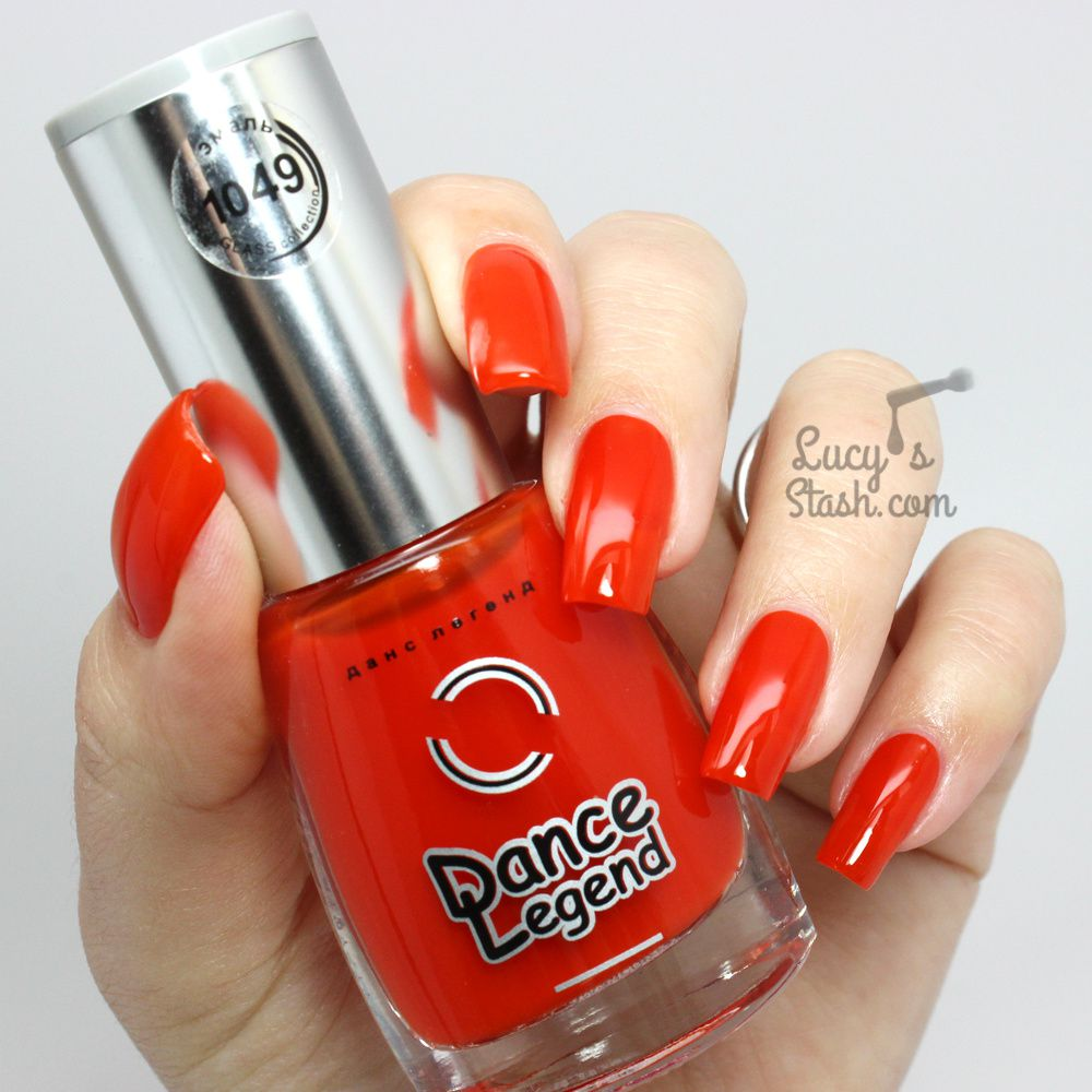 Dance Legend Enamel Glass Polishes - Review &amp&#x3B; Swatches