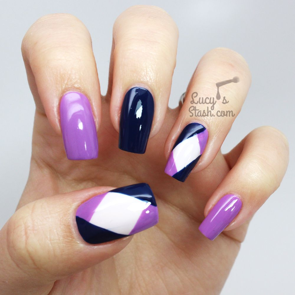 Colour Block Nail Art with The Body Shop Colour Crush ...