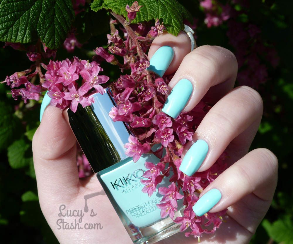 KIKO Perfect Gel Duo in Milky Mint - Review & Swatches