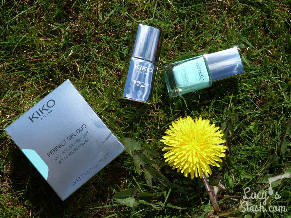 KIKO Perfect Gel Duo in Milky Mint - Review &amp&#x3B; Swatches