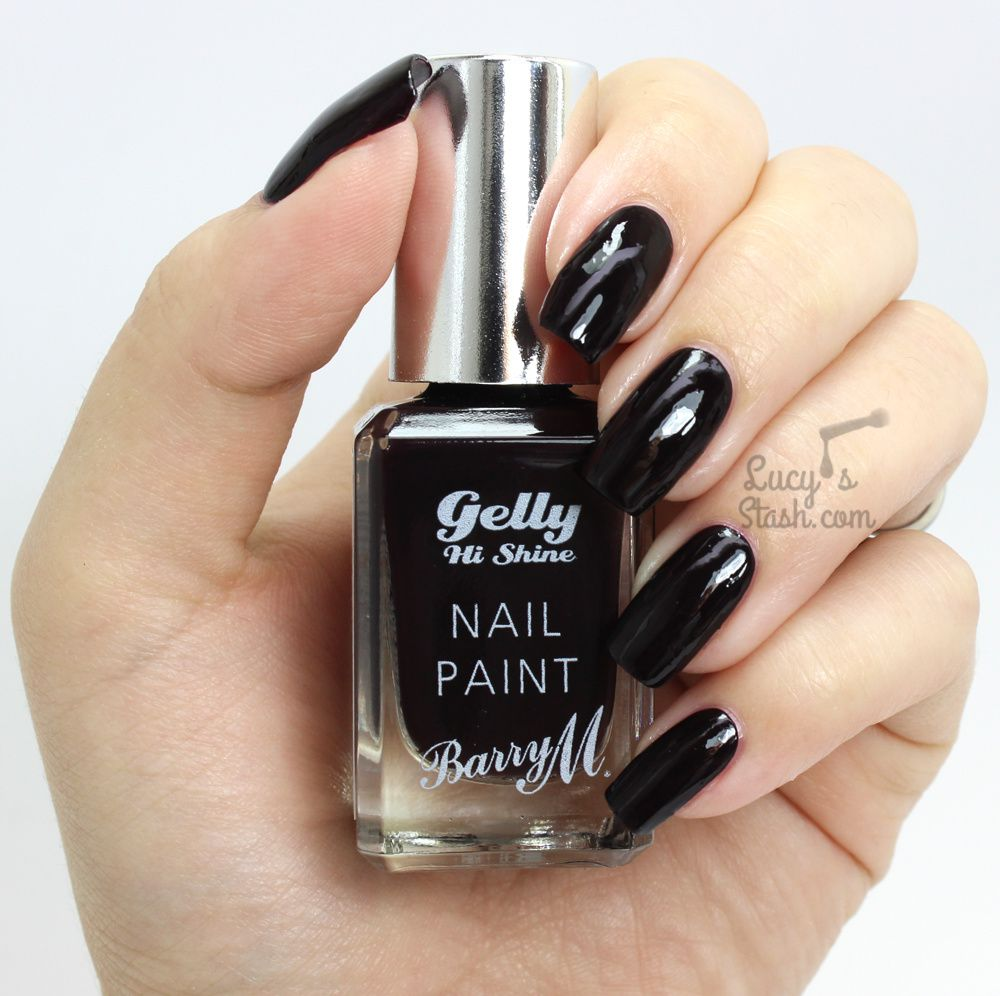 Barry M Midnight Gelly Collection - Review &amp&#x3B; Swatches