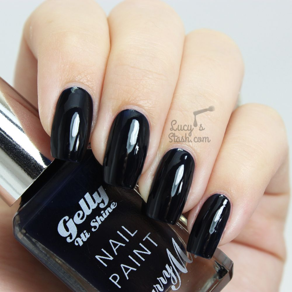 Barry M Midnight Gelly Collection - Review & Swatches - Lucy\'s Stash