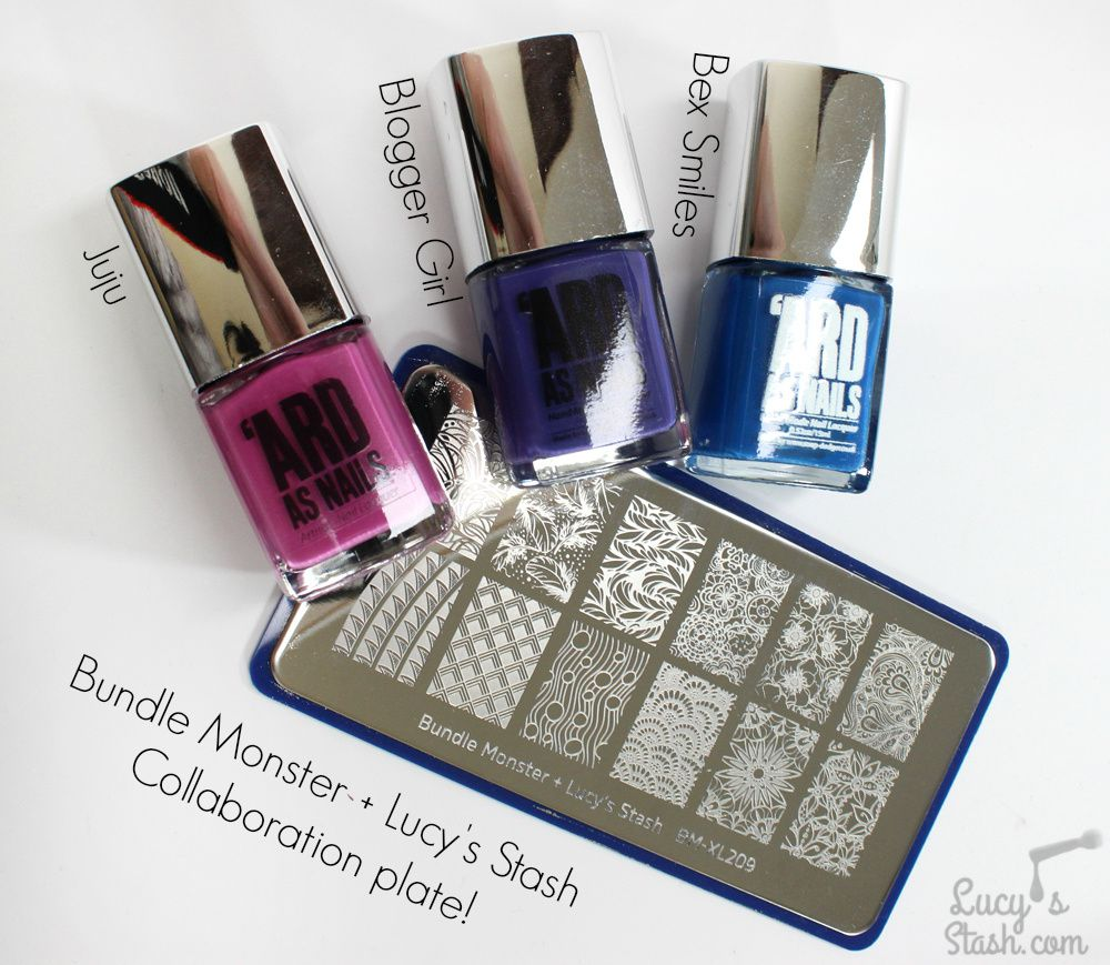 Bundle Monster + Lucy's Stash Collaboration Stamping Plate &amp&#x3B; GIVEAWAY!
