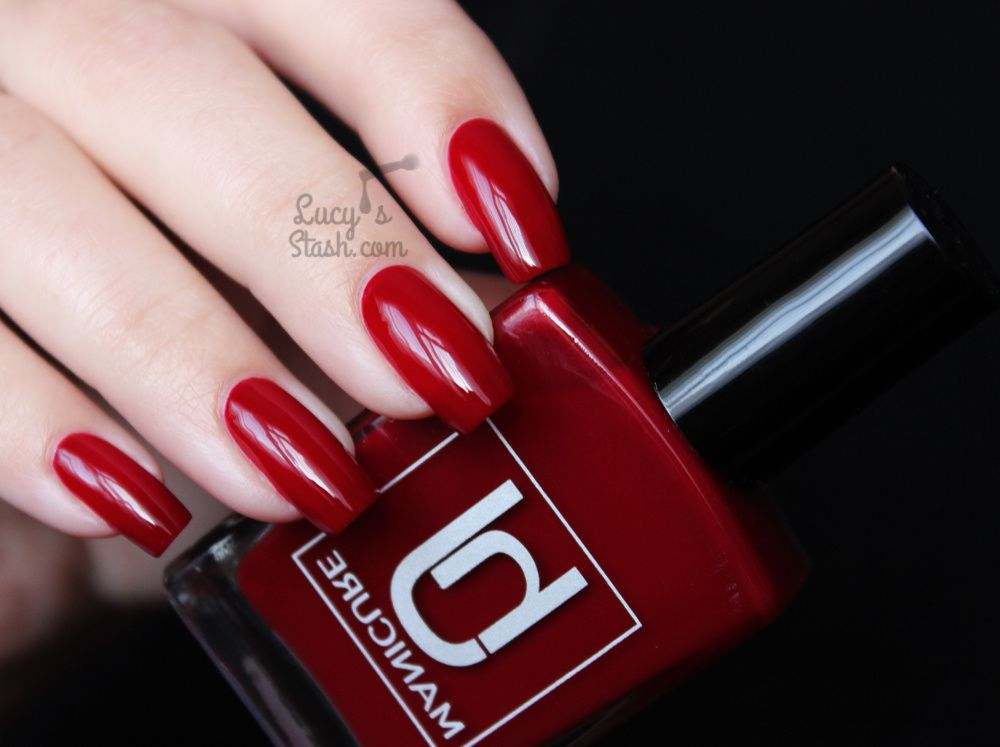 HJ Manicure Red Wine - Review &amp&#x3B; Swatches