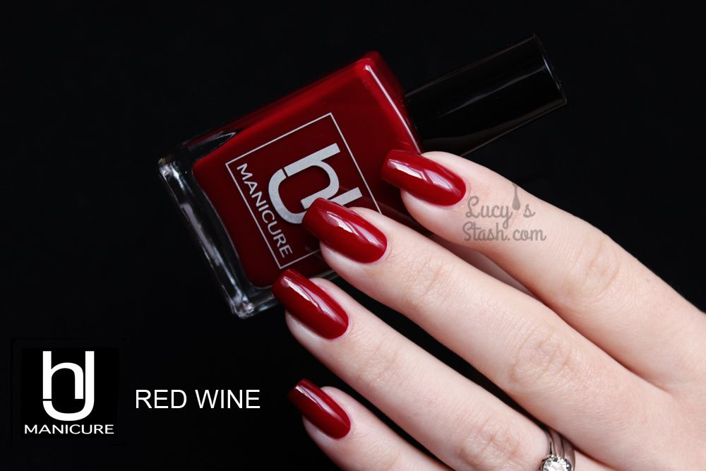 HJ Manicure Red Wine - Review & Swatches